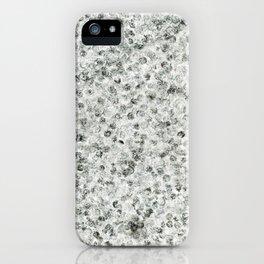 sakura pen stamp b&w iPhone Case