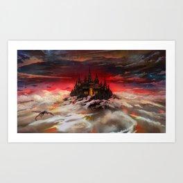 A world  reborn with Magic: Days of Dawn  Art Print
