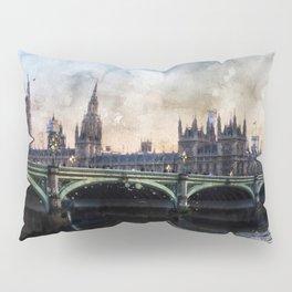 london-parliament-england-ben-ben Pillow Sham