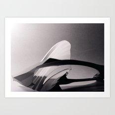 Paper Sculpture #2 Art Print