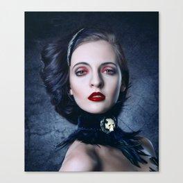 The Vampire Queen Canvas Print
