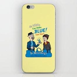Mr. White Can Make Blue! iPhone Skin