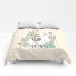 Alpaca Kiss Comforters