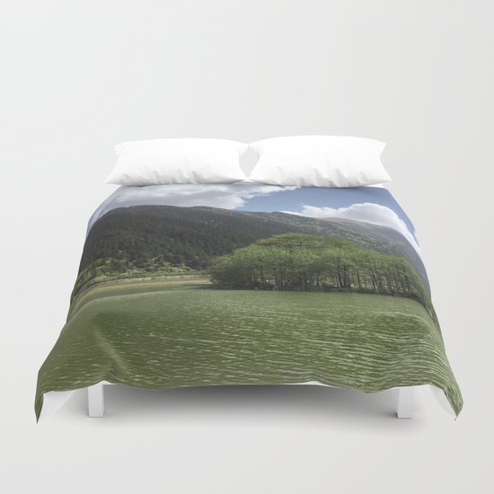 GREEN ART Duvet Cover