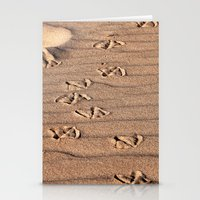dune Stationery Cards featuring SAND DUNE  by CAPTAINSILVA