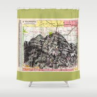 colorado Shower Curtains featuring Colorado by Ursula Rodgers