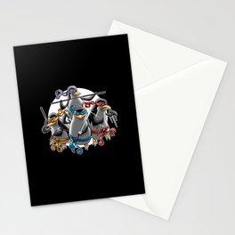 Ninja Penguins Stationery Cards