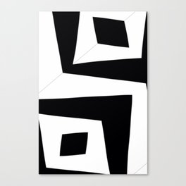 Squished Squares Canvas Print