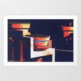 GATERA STUDY 41 Art Print