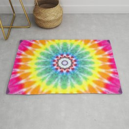 Peace, Love and C19~ Please Stay 6 Feet away Rug