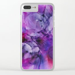 Ink 125 Clear iPhone Case