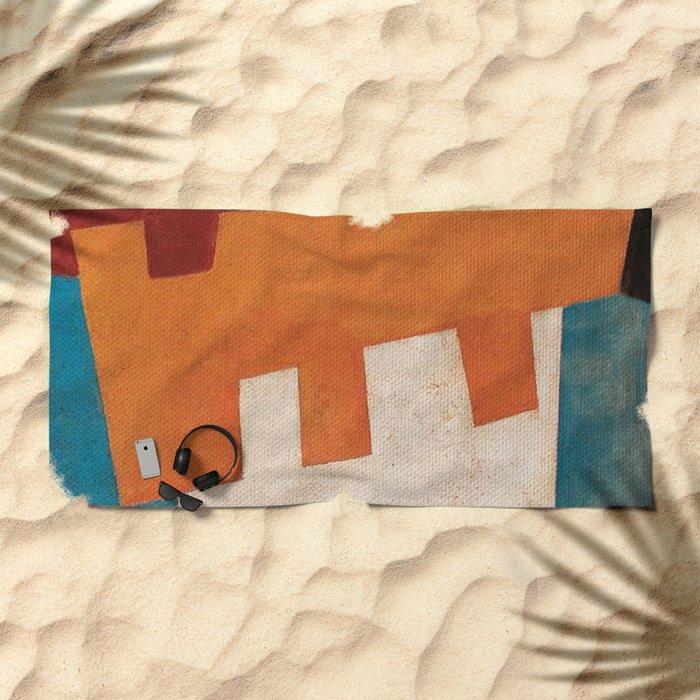 Вол и Bода (Ox and Water) Beach Towel