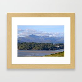Festival {No.6} and Snowdon Framed Art Print