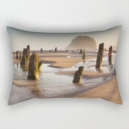 The Ghost Forest Rectangular Pillow