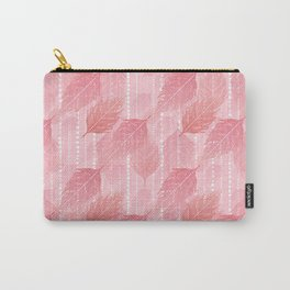 Boho Blush and Beads - Pink Carry-All Pouch