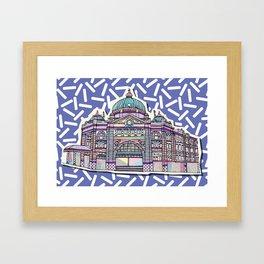Flinders Pop Framed Art Print