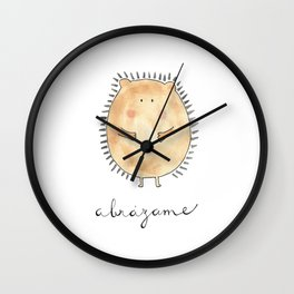 Abrázame Wall Clock