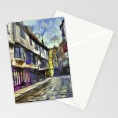 The Shambles York Van Gogh Stationery Cards