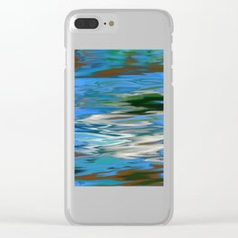 RIVERS AND BAYOUS OF HEMMIGBOUGH OIL PAINTING Clear iPhone Case