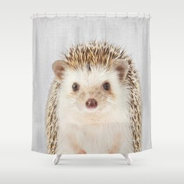 Hedgehog - Colorful Shower Curtain