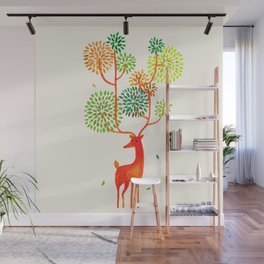 For the tree is the forest Wall Mural