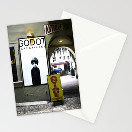 Prague Godot Stationery Cards