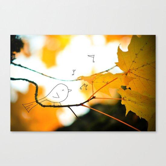 tweet Canvas Print