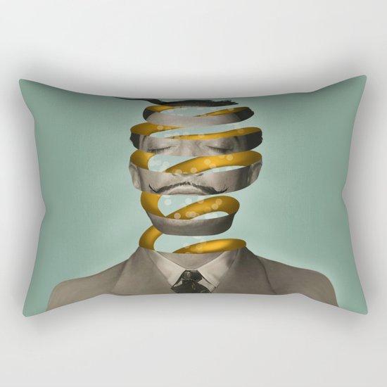 Inside the mind  Rectangular Pillow