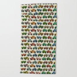 Cars and Trucks Beach Towel