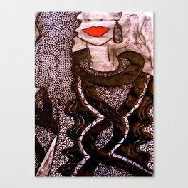 Miss Generosity tetkaART Canvas Print