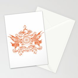 flag of sikkim Stationery Cards