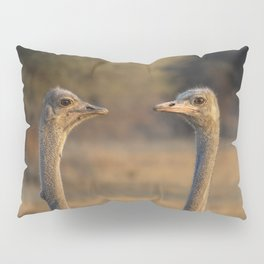 Two Heads Pillow Sham