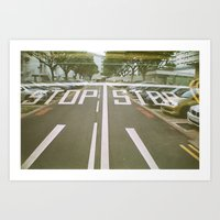 Stop and Go Art Print