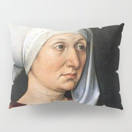 Portrait of Barbara by Albrecht Dürer Pillow Sham