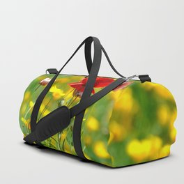 WILD POPPIES Duffle Bag