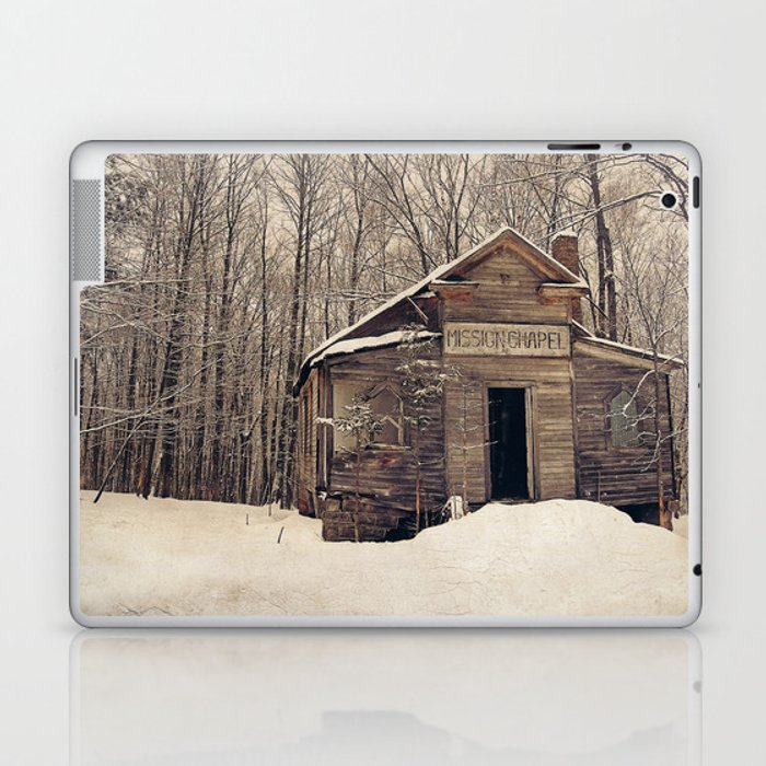 Mission Chapel Laptop & iPad Skin