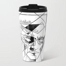 ziggy stardust Metal Travel Mug