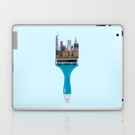 NEW YORK CITYBRUSH Laptop & iPad Skin