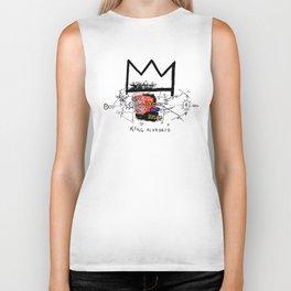 Jean-Michel Basquiat - King Alphonso 1983 Biker Tank