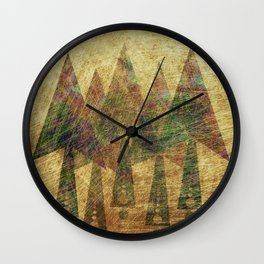 Pineal Expansion Wall Clock