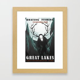 CPS Great Lakes Framed Art Print