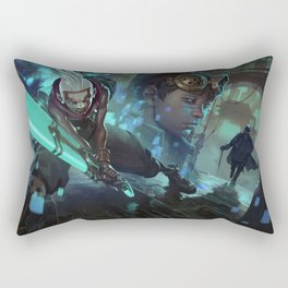 Ekko Comic League Of Legends Rectangular Pillow
