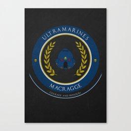 Ultramarines Style Canvas Print
