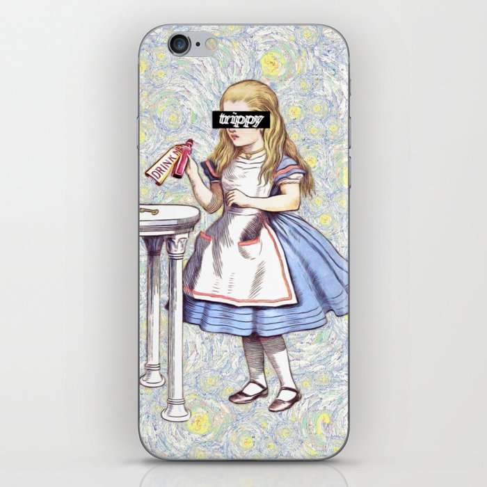Trippy Alice iPhone Skin