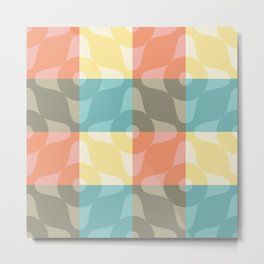 Kitchen Towel: pastel theme Metal Print