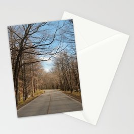 The sound of silent Stationery Cards