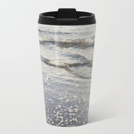 Pacific Waves at Sunset Travel Mug