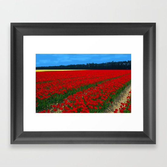 'Off With Their Heads!' Framed Art Print