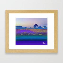 Mendocino by Kenny Rego Framed Art Print