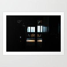 2008 - Heading Towards The Office Art Print